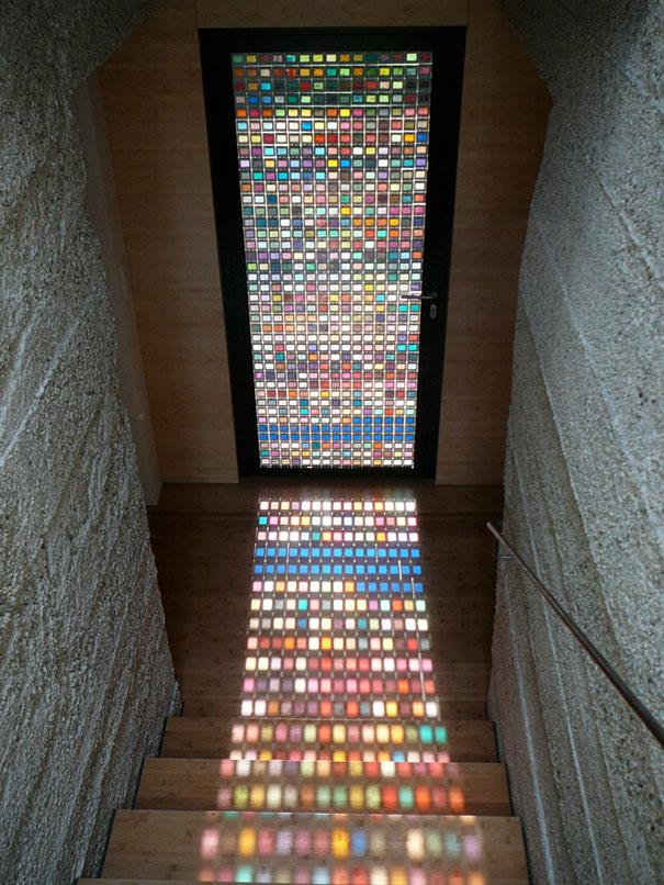 stained-glass-door-made-of-pantone-swatches-1